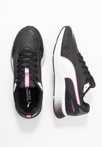 Puma - SPEED SUTAMINA 2 - Neutral running shoes - black/white/luminous pink