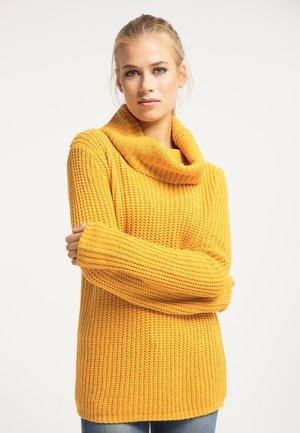 Pullover - senf
