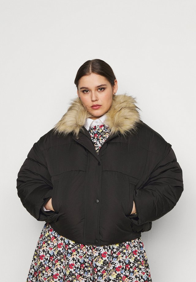 ULTIMATE PUFFER JACKET - Kurtka zimowa - black