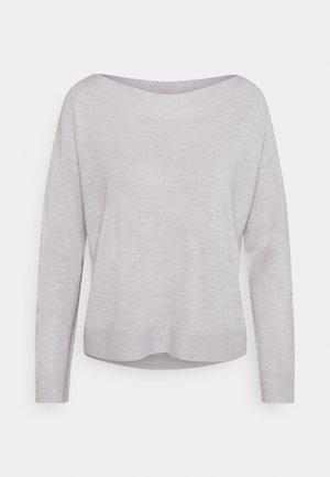 ONLAMALIA BOATNECK - Maglione - light grey
