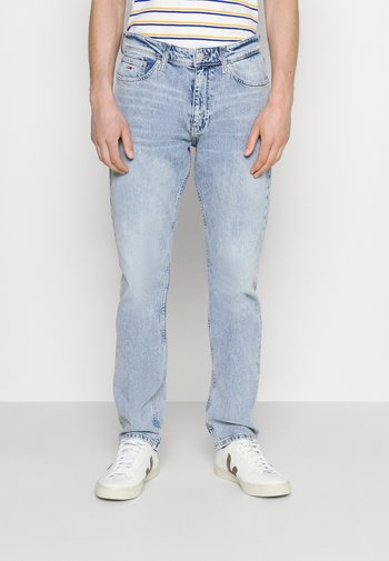 ETHAN RELAXED STRAIGHT - Relaxed fit jeans - light-blue denim