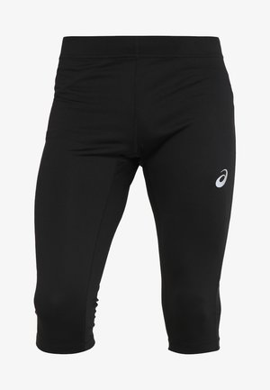 SILVER KNEE TIGHT - 3/4 sportsbukser - performance black