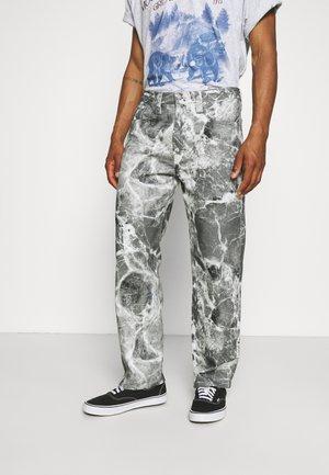 MARBLE SKATE - Jeans Straight Leg - grey