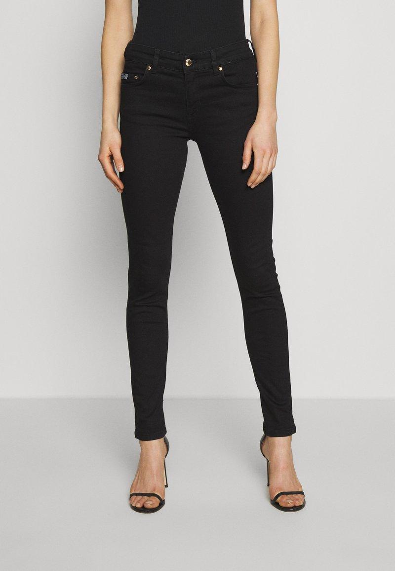 Versace Jeans Couture - Skinny džíny - nero