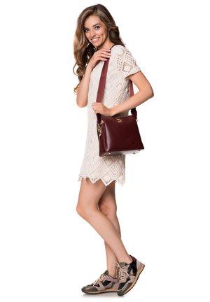 RILEY - Handbag - bordeaux
