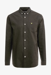 Lyle & Scott - REGULAR FIT  - Skjorta - true black/olive - 4