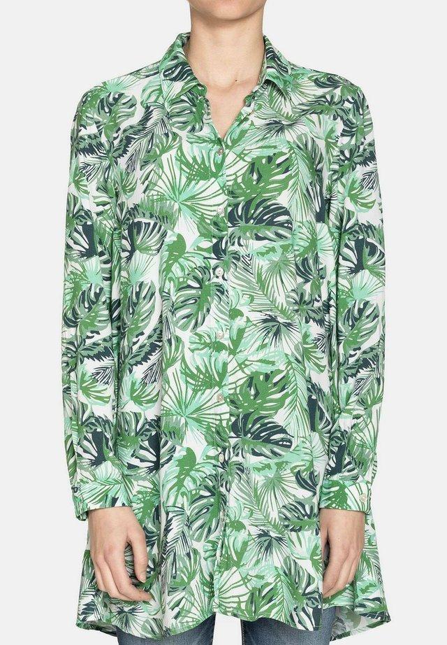 Camicia - verde chiaro/bianco