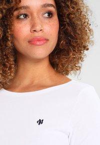 Marc O'Polo - SHORT SLEEVE BOAT NECK  - T-shirt basic - white - 3