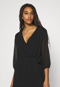 JDY - JDYEMILIA WRAP DRESS - Day dress - black - 4