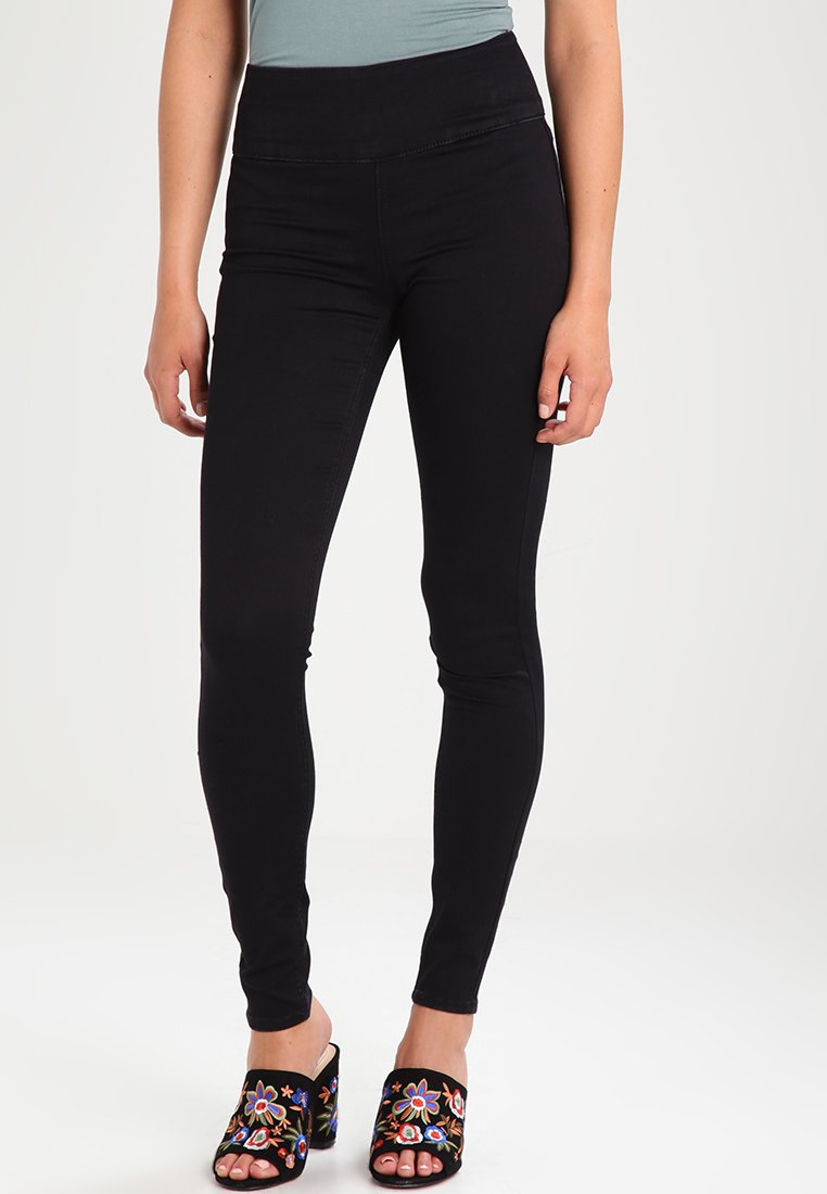 Pieces - Jeggings - black