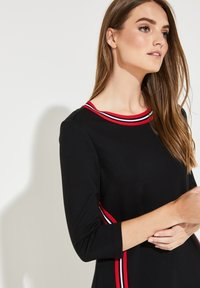 comma casual identity - MIT STREIFEN - Day dress - black - 3