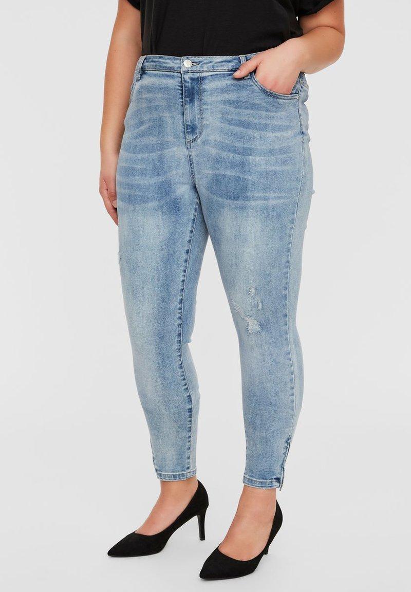 Vero Moda Curve - Jeans Skinny Fit - medium blue