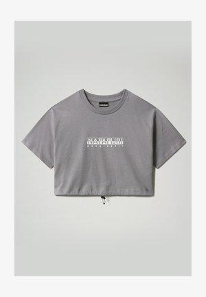 S BEATNIK - T-shirt z nadrukiem - grey