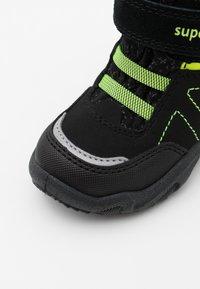 Superfit - GLACIER - Winter boots - schwarz/gelb - 5