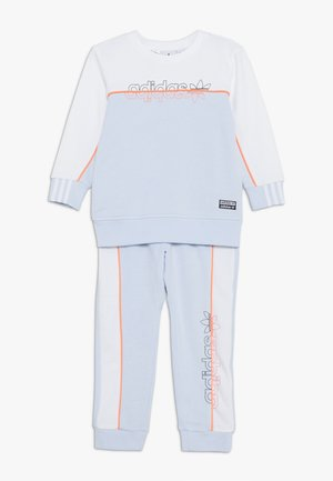 CREW SET - Trainingsanzug - skytin/white