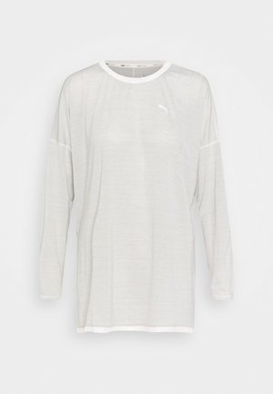 STUDIO GRAPHENE LONG SLEEVE - Long sleeved top - eggnog