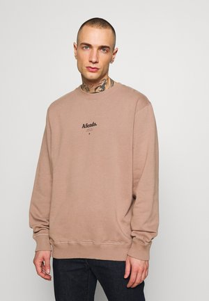 DISTORTED CREW NECK - Sweatshirt - sand