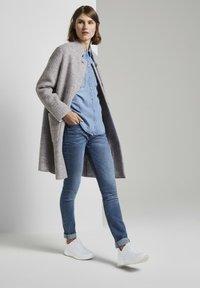 TOM TAILOR - Short coat - mid grey melange - 1
