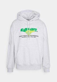 Carhartt WIP - HOODED RUNNER  - Collegepaita - ash heather - 0