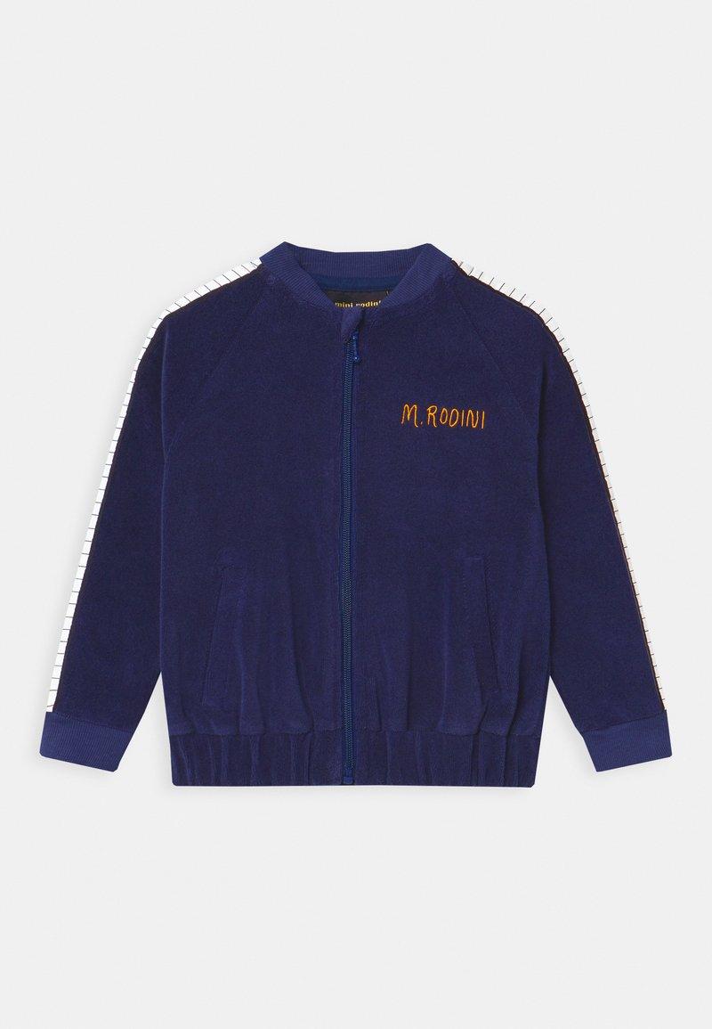 Mini Rodini - PIANO TERRY - Zip-up hoodie - navy