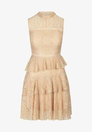 COCKTAILKLEID - Vestito elegante - beige