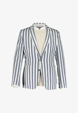 Blazer jacket - navy/off-white