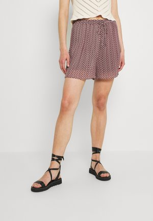 HIGH WAISTED PLEATED - Shorts - multicoloured