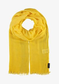 Fraas - Scarf - yellow camel - 0