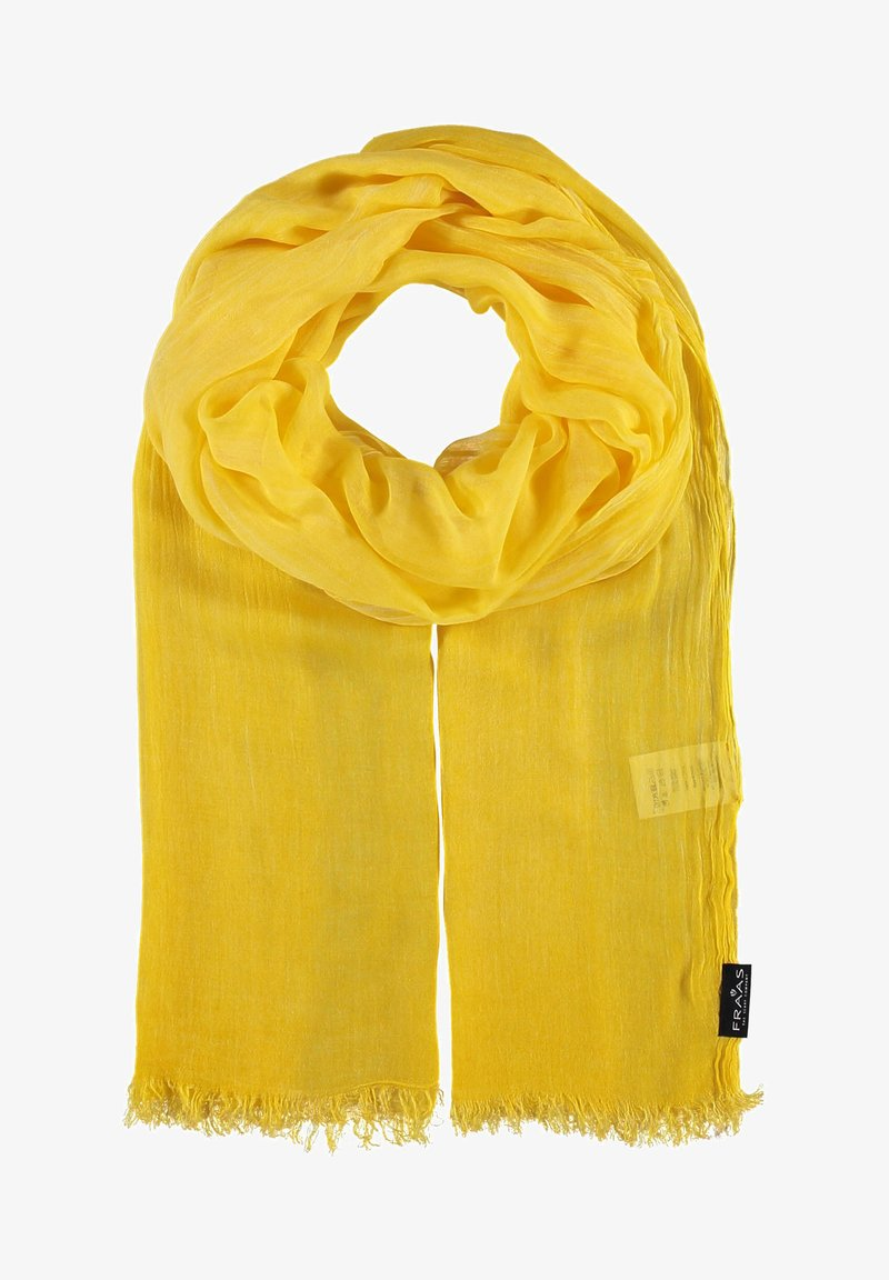 Fraas - Scarf - yellow camel