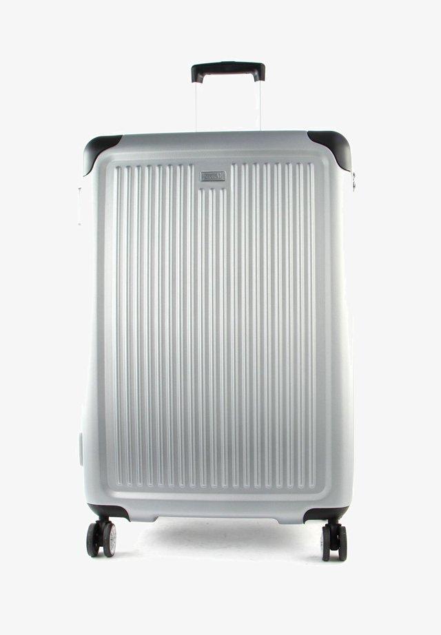 STRIPE  - Wheeled suitcase - silver