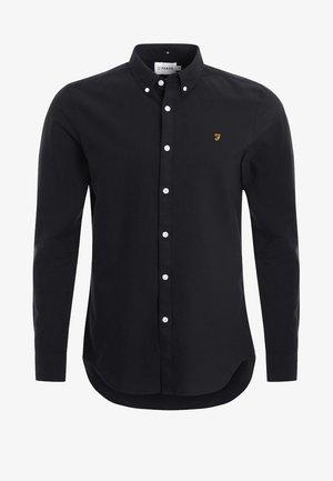 BREWER - Košile - black ink