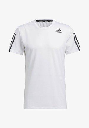 AERO3S DESIGNED4TRAINING PRIMEBLUE - T-Shirt print - white