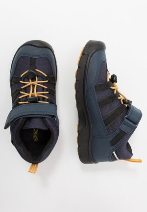 HIKEPORT 2 LOW WP - Hiking shoes - blue nights/sunflower