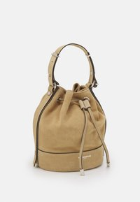 The Kooples - TINA KUNAKEY MEDIUM BUCKET BAG - Handtas - beige - 3