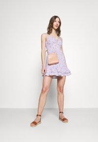 Hollister Co. - BARE SHORT DRESS - Day dress - lavender - 1