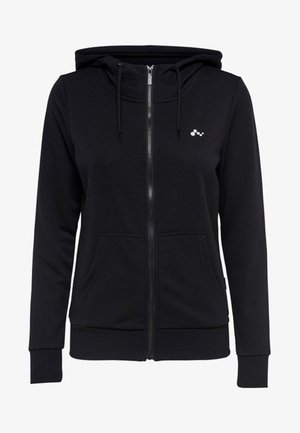ONPELINA ZIP HOOD - Zip-up hoodie - black
