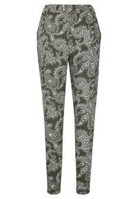 Kaffe - ROKA AMBER PANTS - Trousers - grape leaf new paisley - 5