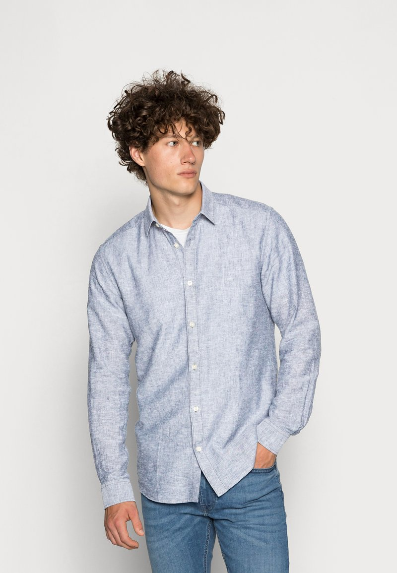 Only & Sons - ONSCAIDEN SOLID - Overhemd - dress blues