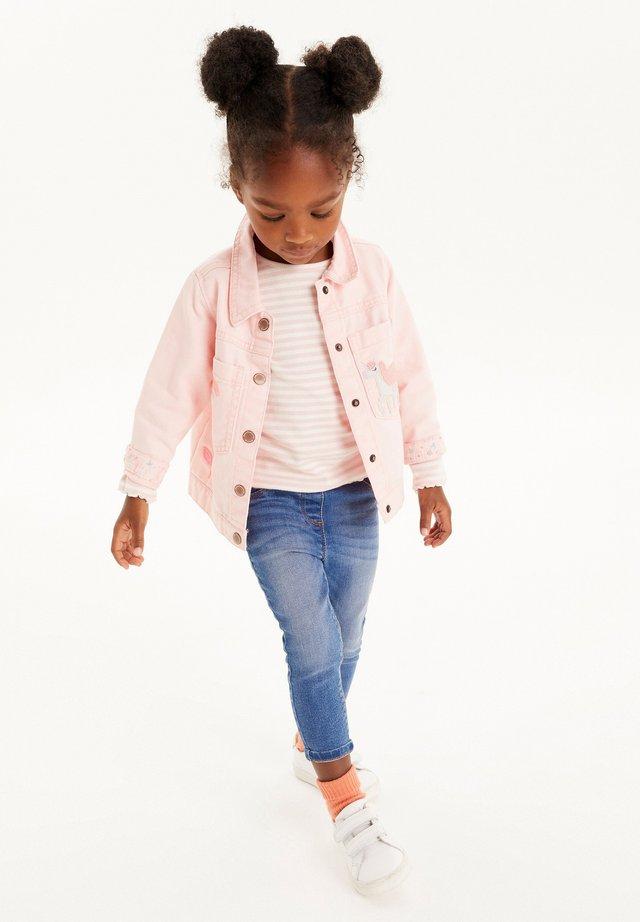 Jeansjacka - pink