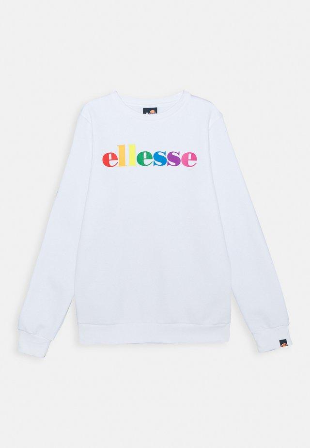 ELETIA UNISEX - Sweatshirt - white