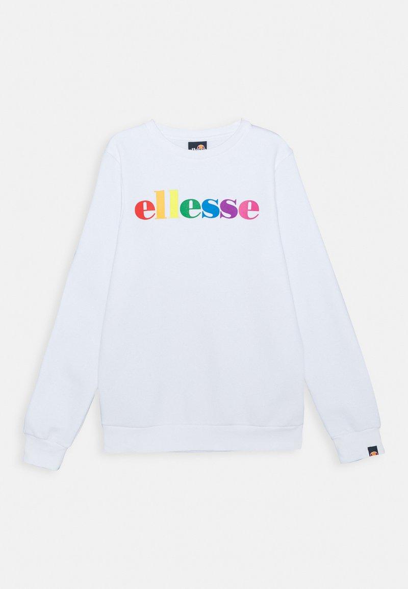 Ellesse - ELETIA UNISEX - Sweatshirt - white