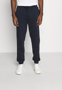Jack & Jones - JJISIMONE 2-PACK - Tracksuit bottoms - navy blazer/khaki - 3