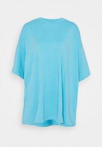 Weekday - HUGE - Basic T-shirt - blue - 4