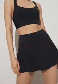 OYSHO - Sports skirt - black - 0