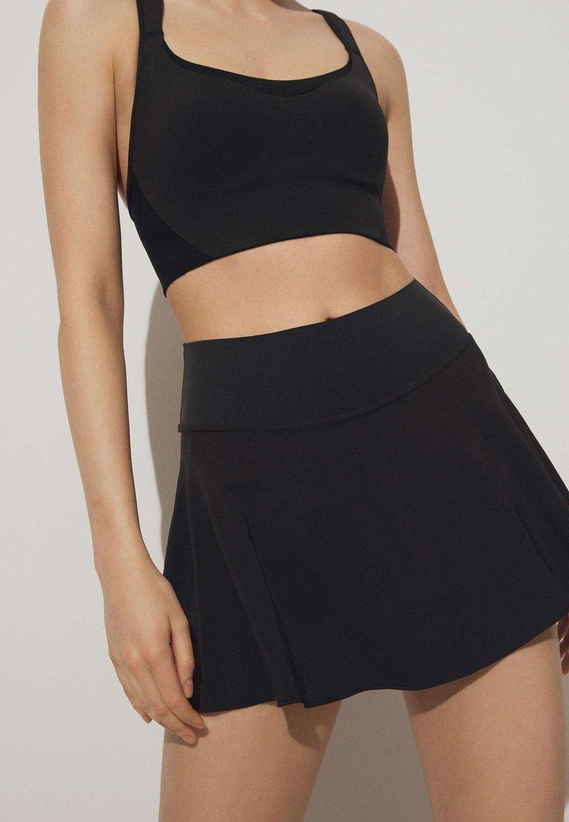 OYSHO - Sports skirt - black