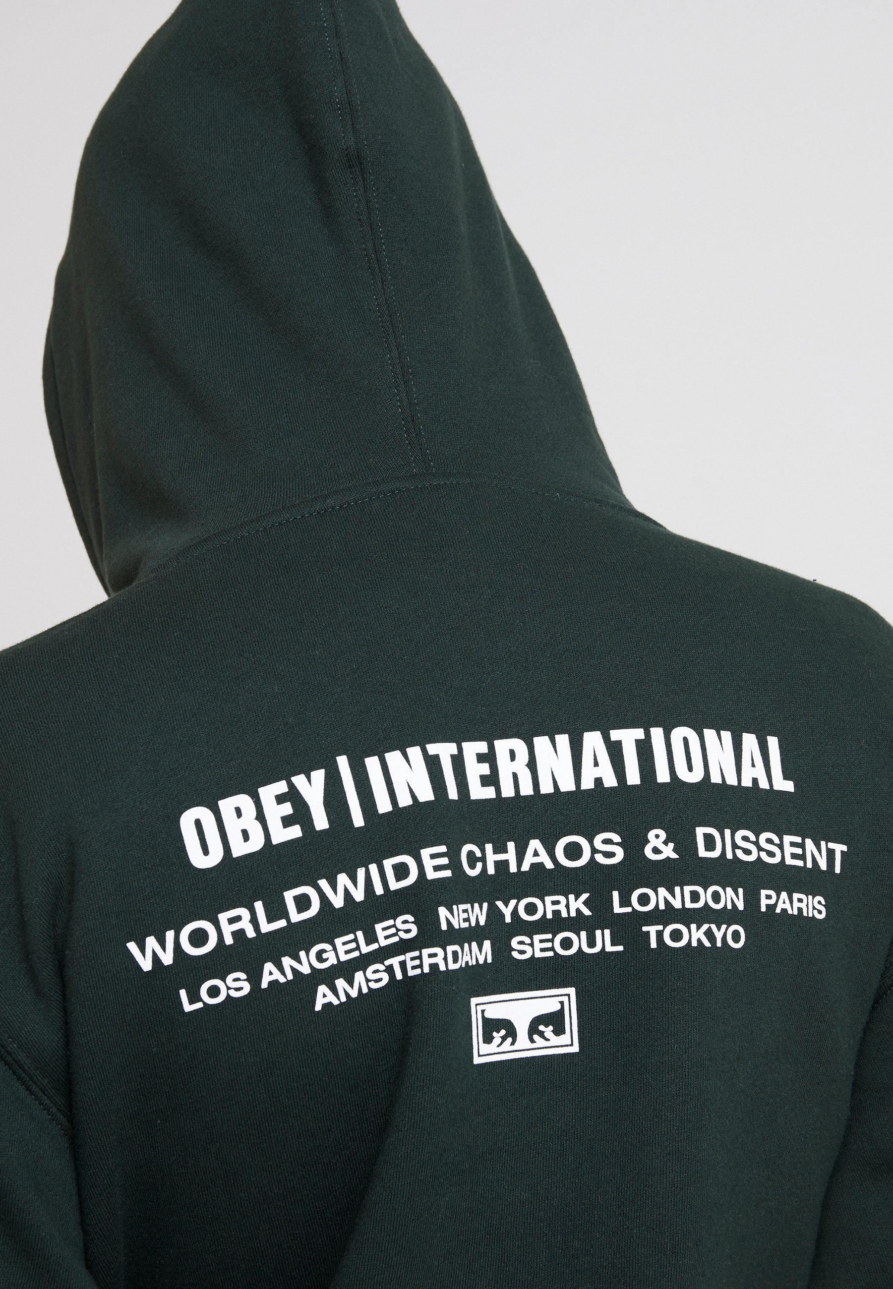INTERNATIONAL CHAOS Hoodie hunter green