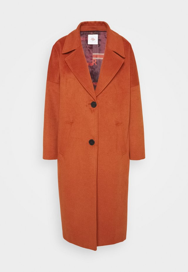 Classic coat - dark orange
