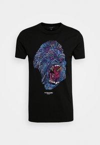 Alessandro Zavetti - RAGING APE - Print T-shirt - black - 4