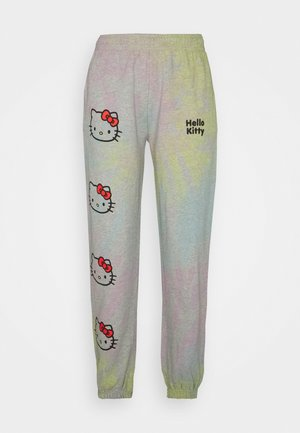 TIE DYE - Tracksuit bottoms - multi