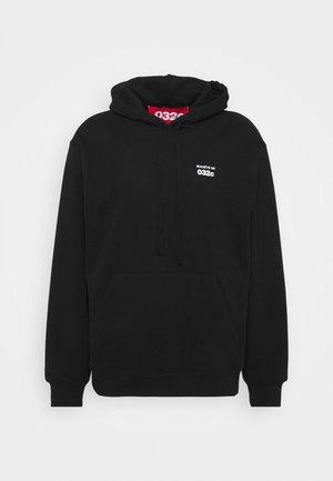 032C X ZALANDO HOODIE UNISEX - Džemperis ar kapuci - black